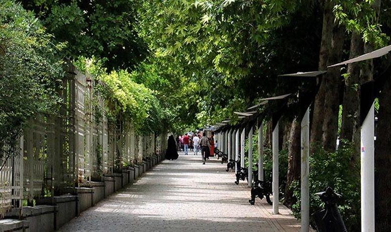 پیاده راه ارم شیراز