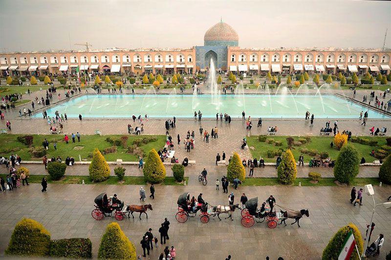 جایگاه میدان شهری در ایران